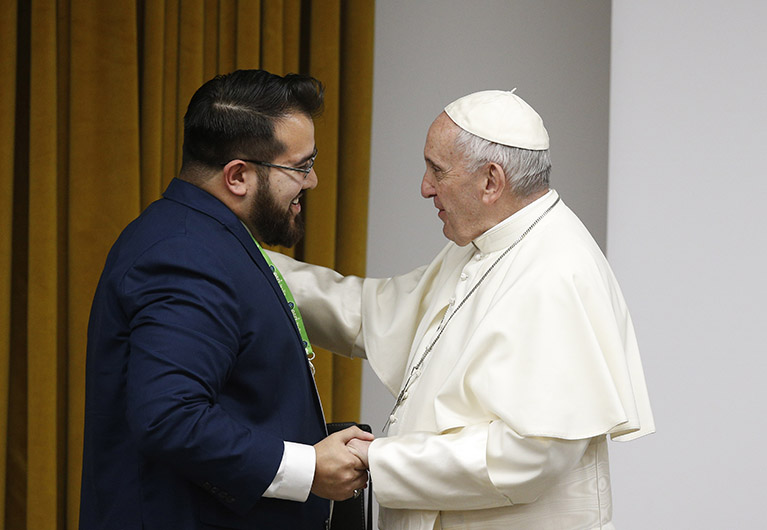 Pope to young people: Help rejuvenate church - Vatican ...