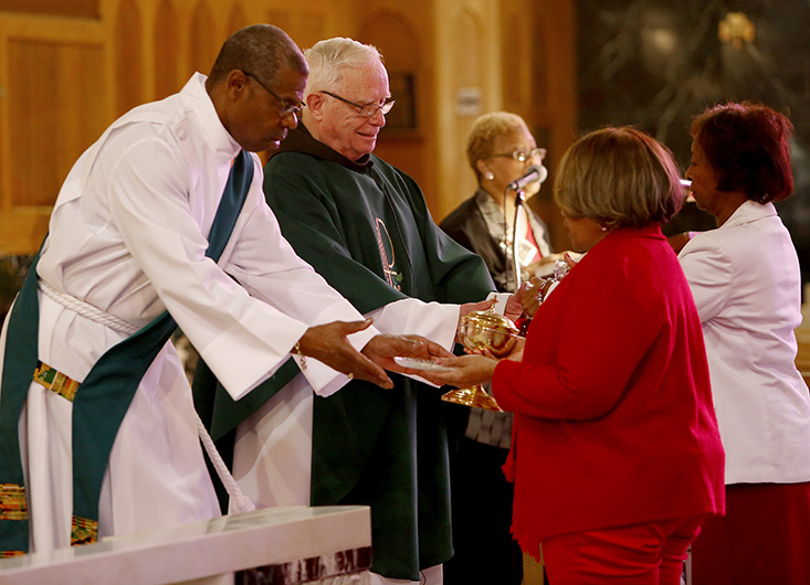 Veterans honored, remembered at Catholic Community of St