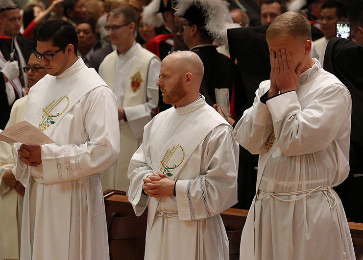 New priests are to be servant-leaders