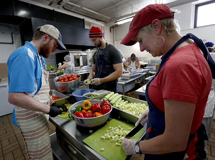 Soup kitchen has fed hungry in Uptown