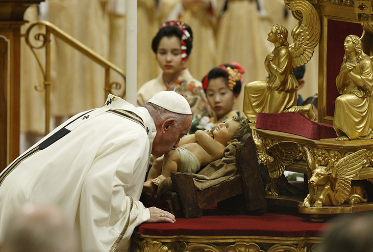Pope's homily: Christmas says, 'You are loved'