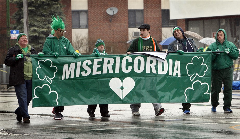 St  Patrick's Day: floats, fun and a general dispensation