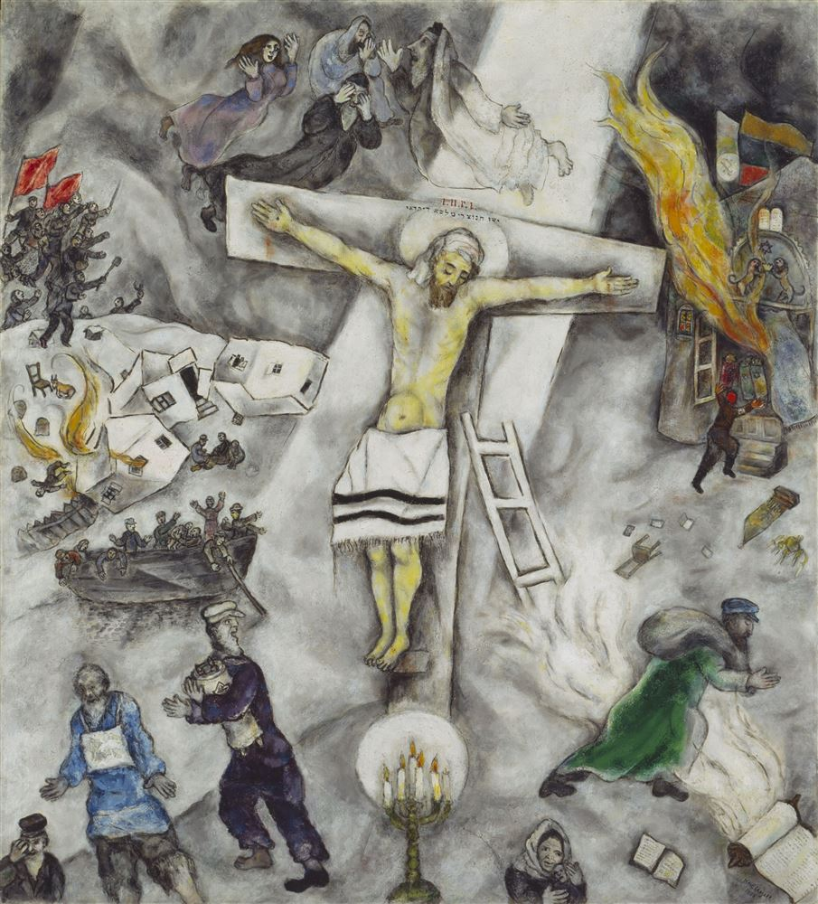 Chicagoland - Chicago Catholic Chagall White Crucifixion