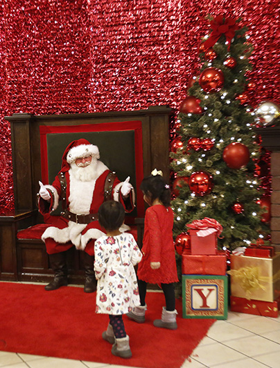 Playing Santa A Special Ministry For One Deacon Chicagoland